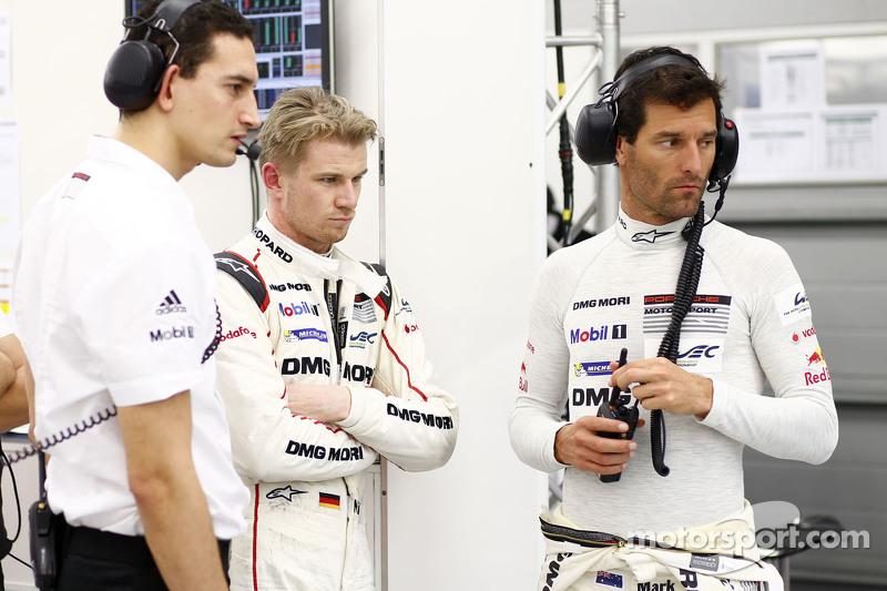 Ніко Хюлкенберг та Марк Веббер, Porsche Team