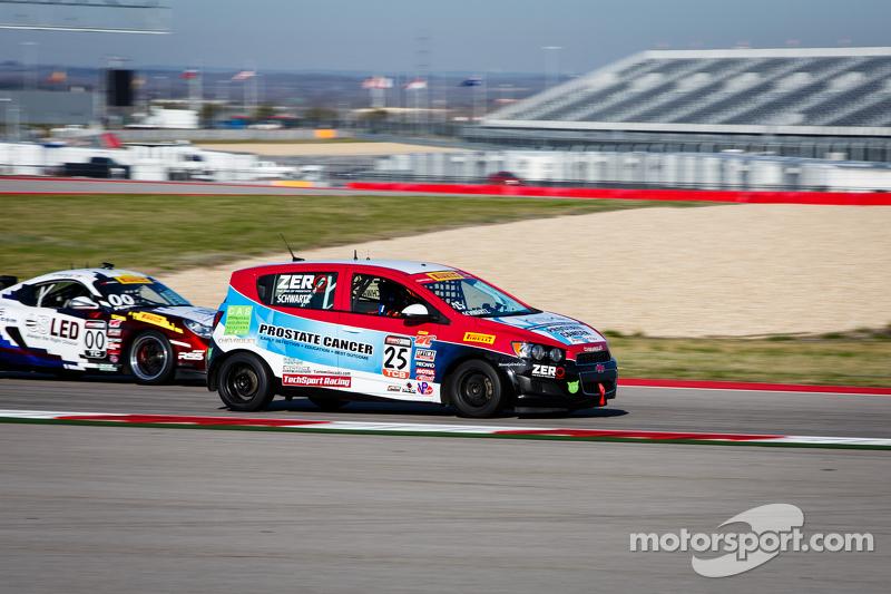 #25 Tech Sport Racing, Chevy Sonic: Johan Schwartz