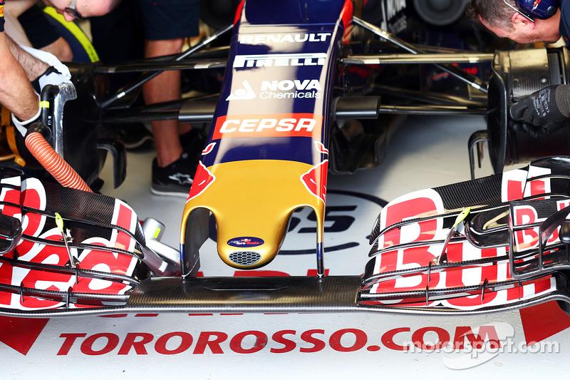 Scuderia Toro Rosso STR10, Frontflügel