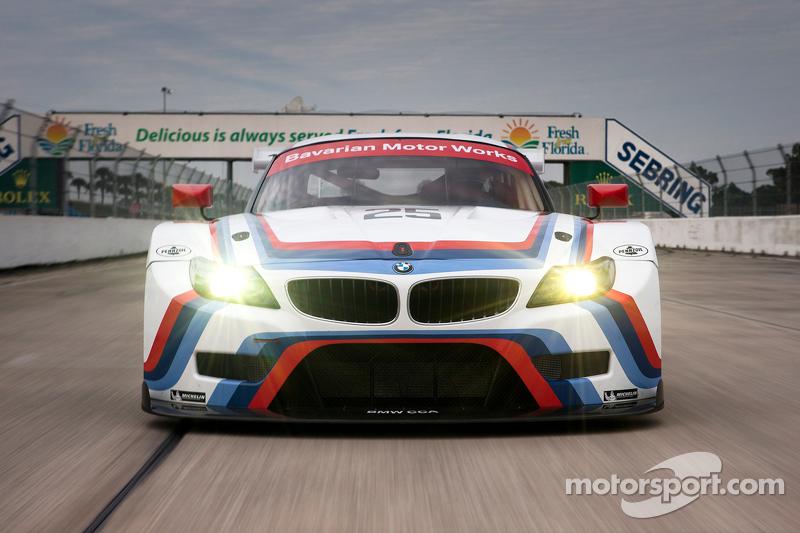 BMW enthüllt ein Retrodesign für die 12 Stunden von Sebring als Hommage an den BMW IMSA 3.0 CSL
