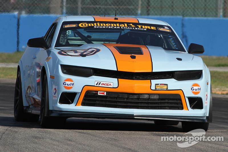 #8 Mantella Autosport Camaro Z/28.R: Anthony Mantella, Mark Wilkins