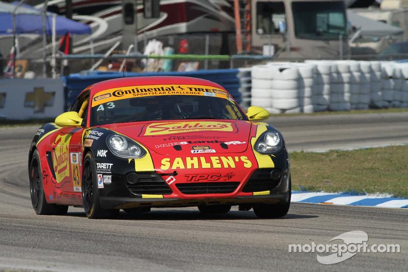 #43 Team Sahlen Porsche Cayman: Wayne Nonnamaker, Jeff Segal