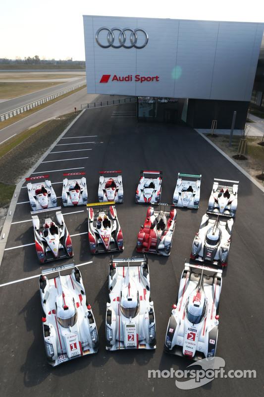Le Mans winning prototypes 2000-2015