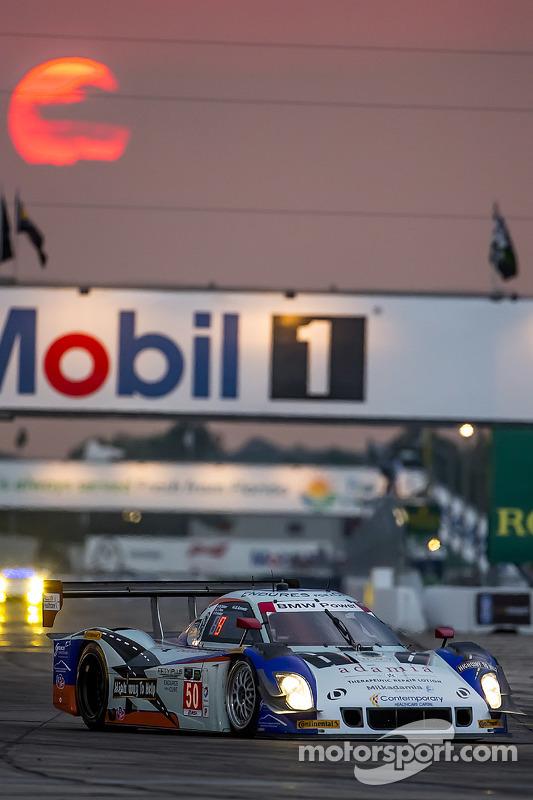 #50 Fifty Plus Racing Endures для a Cure/Highway to Help Race Team Riley BMW: Jim Pace, Byron DeFoor
