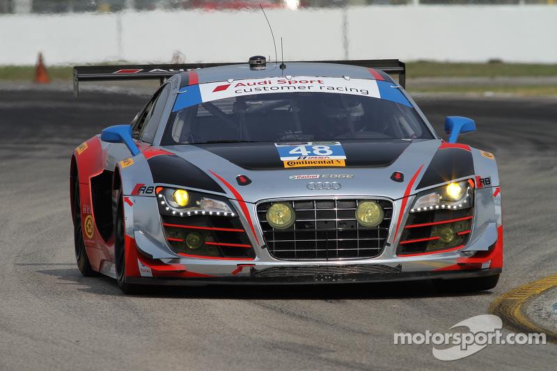 #48 Paul Miller Racing Audi R8 LMS: Крістофер Гаазе, Bryce Miller, Dion von Moltke