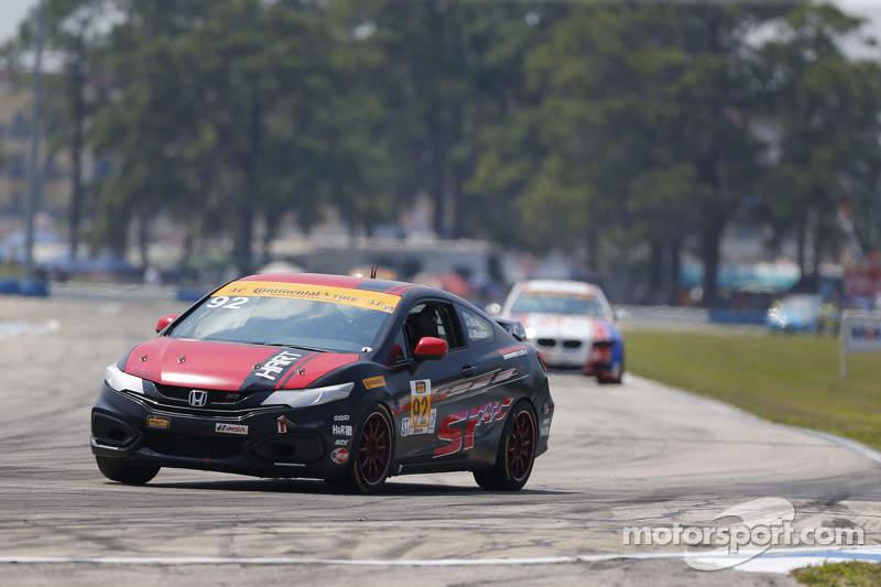 #92 HART, Honda Civic Si: Kevin Boehm, Steve Eich