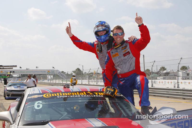 1. Robin Liddell und Andrew Davis, Stevenson Motorsports