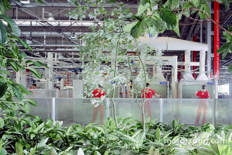 法拉利工厂的一座建筑