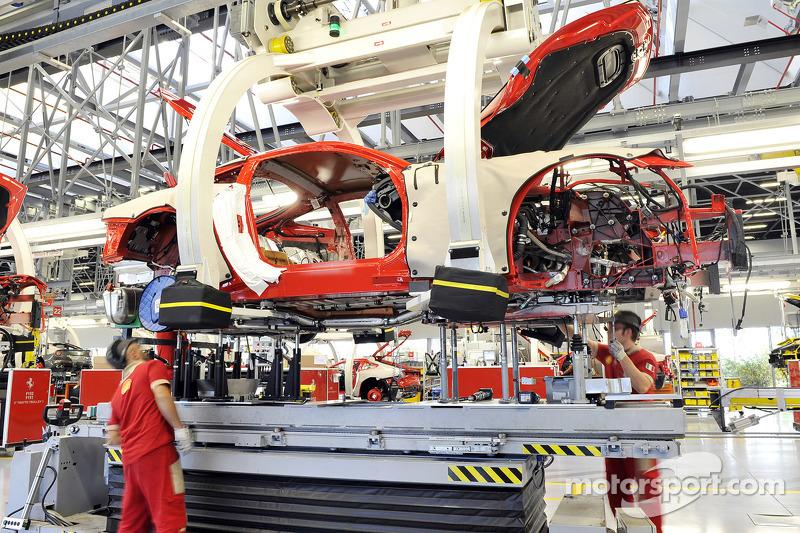 Ferrari, Produktionslinie