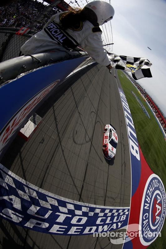 Brad Keselowski, Team Penske, Ford, siegt