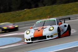 #86 Gulf Racing UK Porsche 911 RSR: Michael Wainwright, Adam Carroll, Ryan Cullen, Ben Collins