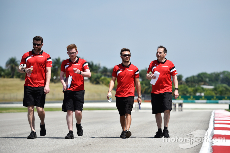 Will Stevens, Manor Marussia F1 Team berjalan di sirkuit