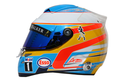 费尔南多·阿隆索的头盔, 迈凯伦