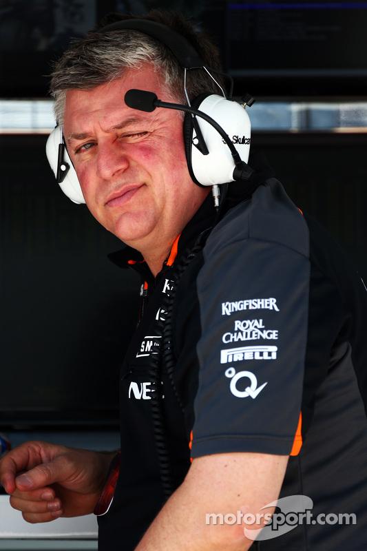 Отмар Шцафнауер, Sahara Force India F1 Головний операційний директор
