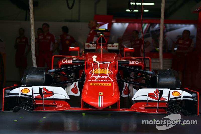 Ferrari SF15-T of Kimi Raikkonen, Ferrari