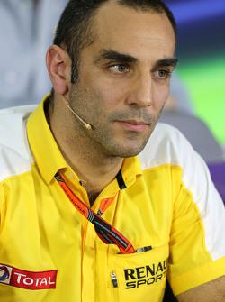 Сириль Абитбуль, Renault Sport F1