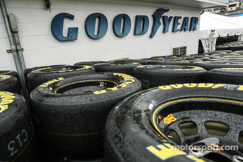 Goodyear tire detail