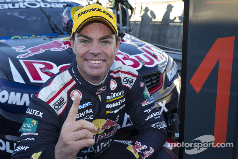 1. Craig Lowndes, Triple Eight Engineering, Holden