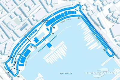 Circuito del ePrix de Mónaco