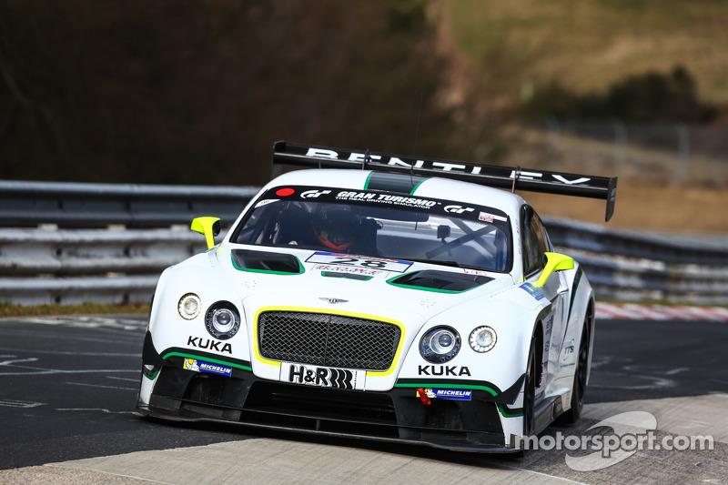 #28 Bentley Team Bentley Continental GT3: Harold Primat, Christopher Brück