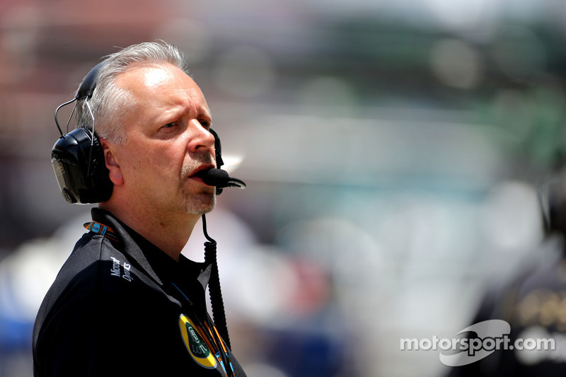 Paul Seaby, Lotus F1 Team, Team Manager