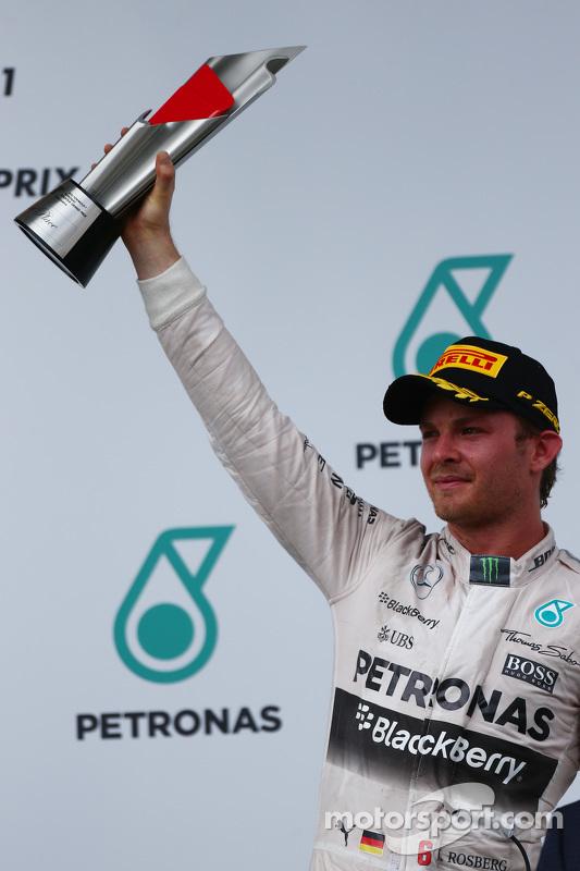 Posisi ke-3 Nico Rosberg, Mercedes AMG F1 W06