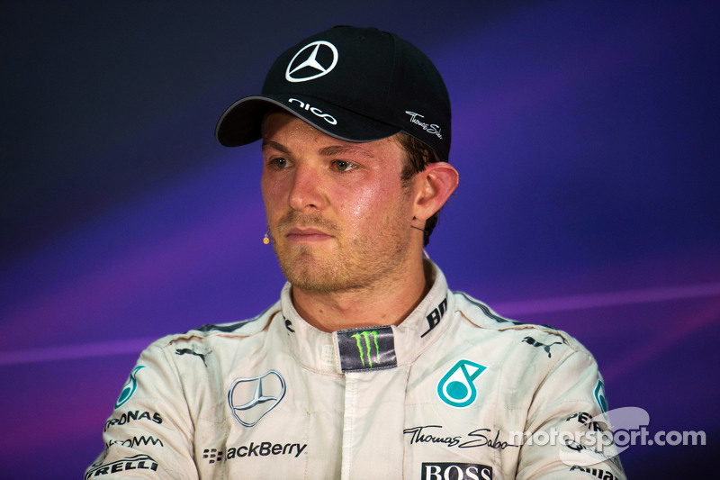 Nico Rosberg, Mercedes AMG F1 di FIA Press Conference