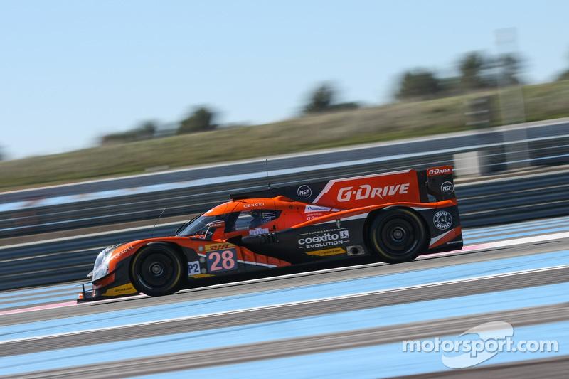 #28 G-Drive Racing Ligier JS P2 Nissan: Gustavo Yacaman, Pipo Derani, Ricardo González