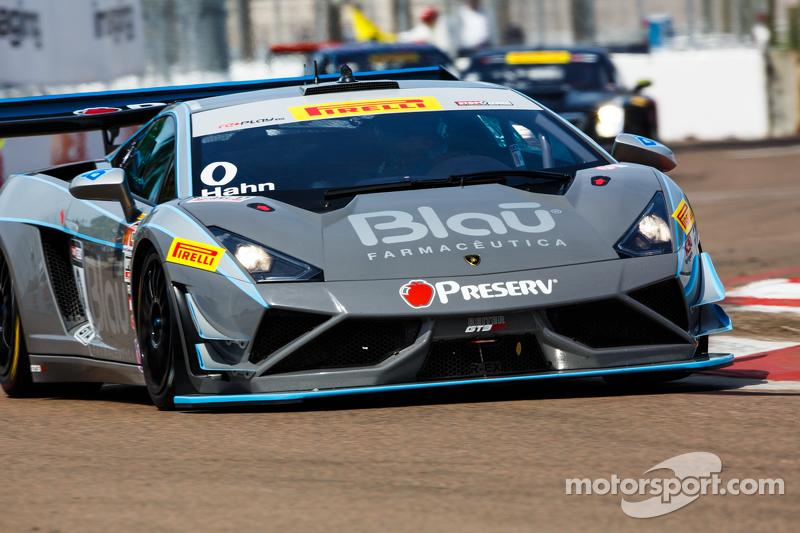 #0 Blancpain Racing, Lamborghini Gallardo R_EX: Marcelo Hahn