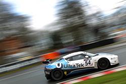 #54 Ultra Tek Racing, Lotus Evora GT4: Tim Eakin, Jamie Wall