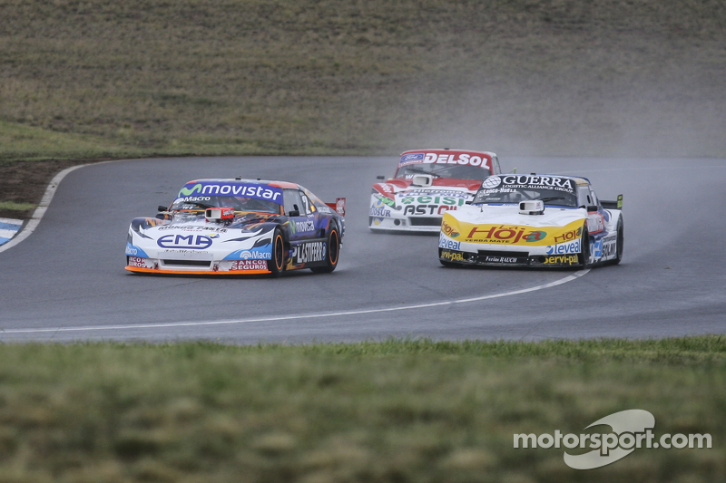 Christian Ledesma, Jet Racing, Chevrolet; Luis Jose di Palma, Indecar Racing, Torino; Juan Pablo Gianini, JPG Racing, Ford