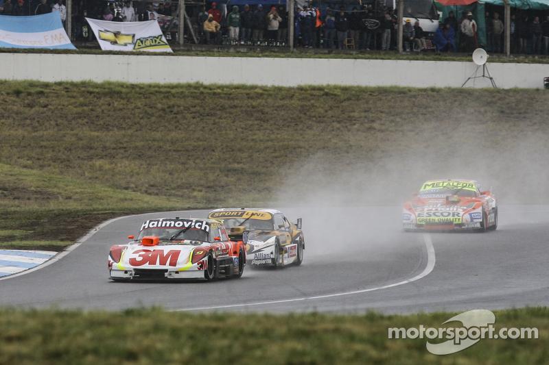 Mariano Werner, Werner Competicion, Ford; Leonel Pernia, Las Toscas Racing, Chevrolet, und Jonatan Castellano, Castellano Power Team, Dodge