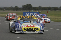 Mauricio Lambiris, Coiro Dole Racing, Torino, und Pedro Gentile, JP Racing, Chevrolet