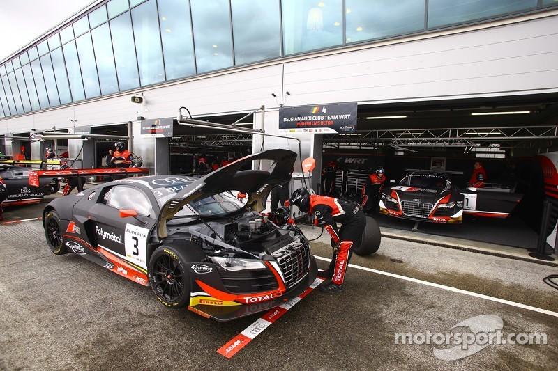 #3 Belgian Audi Club Team WRT, Audi R8 LMS Ultra: Stephane Richelmi, Stephane Ortelli