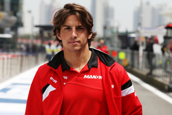 Roberto Merhi, Manor F1 Team, beim Trackwalk