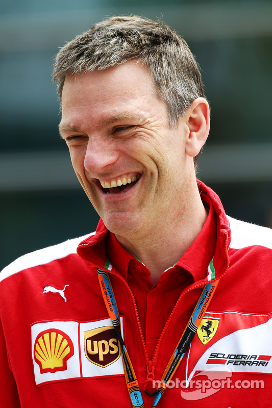 James Allison, Ferrari Chassis Technical Director
