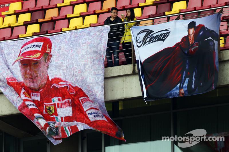 Banners de Kimi Raikkonen, Ferrari