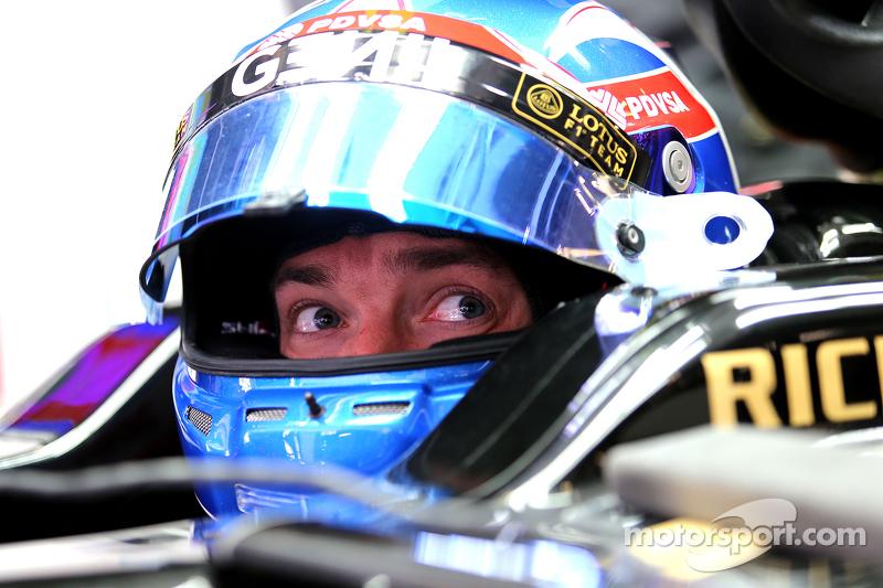 Jolyon Palmer, Lotus F1 Team