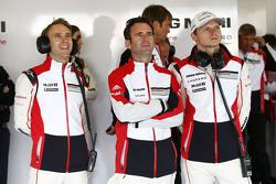 Timo Bernhard, Romain Dumas, Marc Lieb, Porsche Team