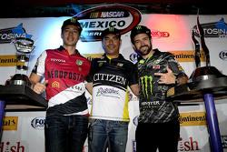 Luis Felipe Montaño, Rubén Pardo y Hugo Oliveras