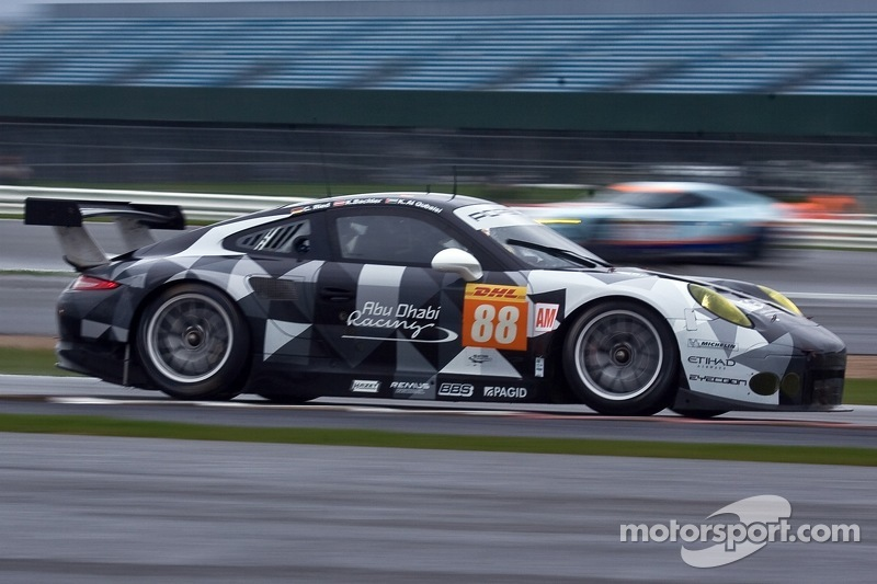 #88 Proton Competition,保时捷911 GT3 RSR: Christian Ried, Gianluca Roda, Khaled Al Qubaisi