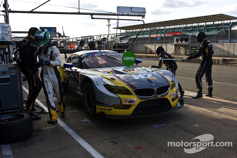 #52 BMW Team Marc VDS Z4 GTE: Енді Пріоль, Henry Hassid, Jesse Krohn