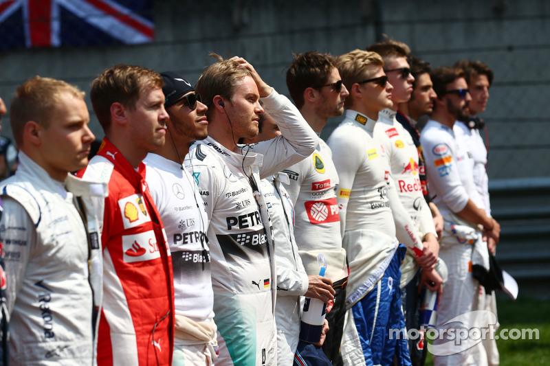Nico Rosberg, Mercedes AMG F1 di grid