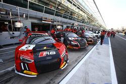Belgian Audi Club Team WRT, Teambereich