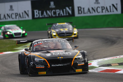 #15 Boutsen Ginion Racing, BMW Z4: Karim Ojjeh, Olivier Grotz
