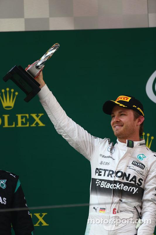 2. Nico Rosberg, Mercedes AMG F1 W06