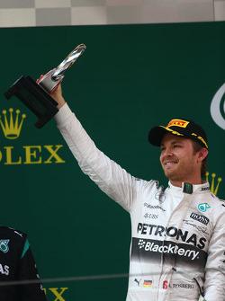 Le deuxième Nico Rosberg Mercedes AMG F1 W06