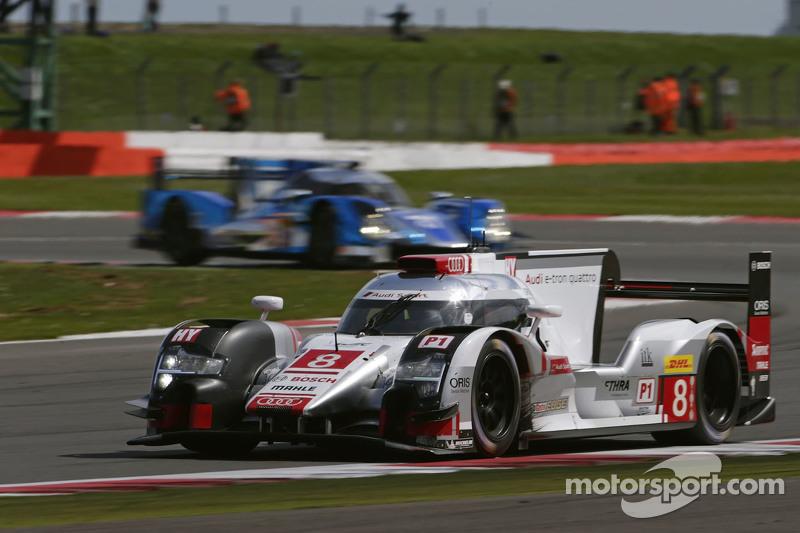 #8 Audi Sport Team Joest R18 e-tron quattro: Lucas di Grassi, Loic Duval, Oliver Jarvis