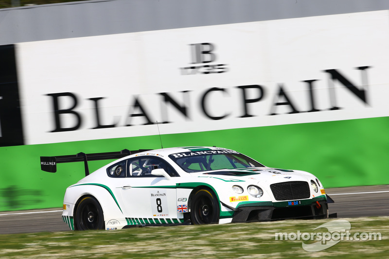 #8 Bentley M-Sport Bentley Continental GT3: Максиміліан Бук, Maxime Soulet, Andy Soucek