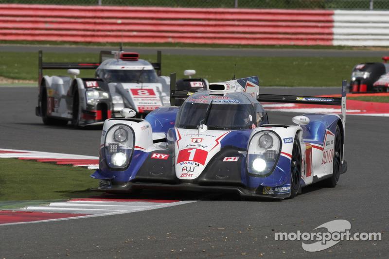 #1 Toyota Racing, TS040 Hybrid: Anthony Davidson, Sébastien Buemi, Kazuki Nakajima